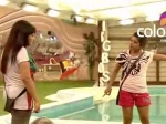 Bigg Boss 5 Nihita Biswas Fight Shraddha Sharma