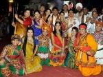 Tarak Mehta Cast Play Dandiya Falguni Pathak