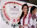 Dia Mirza Unveil Diwali Jewelry Collection