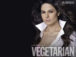 Veena Malik Peta Pro Vegetarian Ads