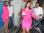 Lara Dutta Flaunt Baby Bump Godh Bharai