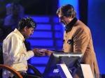 Kbc Amitabh Handover Cash Prize Sushil Kumar