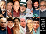 Bollywood Celebrities Death
