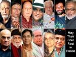 Bollywood Celebrities Death