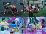 Bigg Boss 5 Siddharth Amar Sky Wrestle Yama