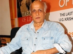 Drug Hollywood Heritage Mahesh Bhatt
