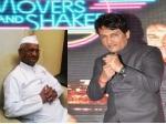 Shekhar Suman Get Anna Hazare Movers Shakers
