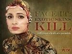 Dia Mirza Dress Snake New Peta Ad Campaign