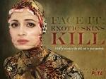 Dia Mirza Dress Snake New Peta Ad Campaign