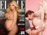Pregnant Jessica Simpson Gone Nude Elle Cover