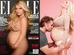 Pregnant Jessica Simpson Gone Nude Elle Cover