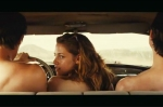 Kristen Stewart Topless On The Road Trailer