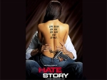 Paoli Dam Hate Story Poster Painted Blue