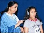 Asha Bhosle Granddaughter Singing Debut
