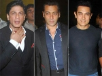 Shahrukh Khan Salman Aamir Farah Shirish Fights