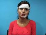 Actress Gehna Vashist Beaten Up Bikini Indian Flag