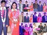 Saikumar Daughter Wedding Reception Stars Galore Photos