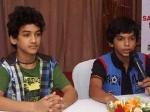 Dance Ke Superkids Promote Faisal Khan Vatsal Vithlani