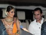 Amrita Singh Saif Ali Khan Kareena Kapoor Sangeet