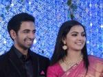 Samvrutha Sunil Akhil Raj Wedding Reception Pictures