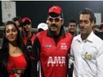 Charmi Perform Salman Khan Ccl 3 Curtain Raiser