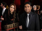 Ar Rahman Saira Banu 55 Annual Grammy Awards Red Carpet