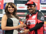 Telugu Warriors Lost Ccl 3 Winners Trophy Pictures