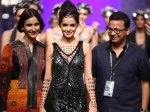 Shazahn Padamsee Walks Ramp