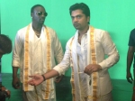 Photos Akon Wraps Up Simbu Love Anthem