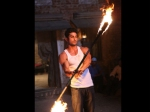 Prateik Babbbar Fire Dance Issaq
