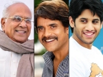 Akkineni Nagarjuna Miss Mom At Manam Launch