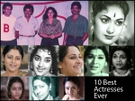 Top 10 Ever Green Actresses In Telugu Films