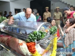 Photos Stars Pay Last Respect To Manjula Vijay Kumar