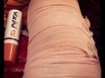 Ragini Dwivedi Hurts Knee