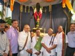 Photos K Viswanath Unveil Adibhatla Statue