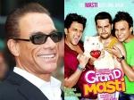 Vivek Oberoi Keen Grand Masti 3 Jean Claude Van Damme