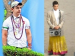 Aamir Khan Cross Dressing Ears Lipstick Skirt Chains Pk Peekay
