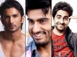 Ayushmann Arjun Kapoor Sushant Rajput Try To Impress Aditya Chopra