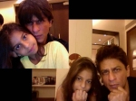 Shahrukh Khan And Suhana Cry Together While Watching Khnh