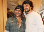 Costly Set For Ravichandran Sudeep Movie