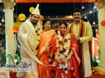 Telugu Actor Brahmaji Son Bengali Style Wedding Photos