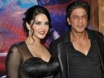 Sunny Leone Dream Meet Shahrukh Khan Comes True Jackpot