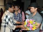 Photos Sai Korrapati Meet Aamir Khan Dhoom 3 Team