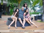 Sridevi Boney Kapoor Holiday Maldives New Year Pictures