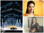 Star Guild Awards 2014 Best Actress Ankita Lokhande Drashti Dhami