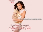 Amy Jackson Turn Angel For Animals New Peta Ad