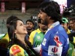 Celebrity Cricket League 4 Ccl Sudeep Bhavana