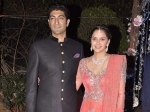 Ahana Deol Hema Malini Dhamendra Daughter Wedding Reception Pictures 131187 Pg