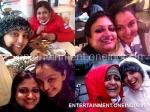 Manju Warrier Enjoys In Rotterdam With Geethu Mohandas