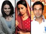 Zee Cine Awards 2014 Raj Kumar Rao Divya Dutta Swara Bhaskar Bag Award